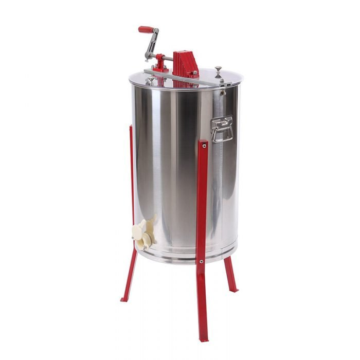 HE 3M 3 Frame Stainless Manual Honey Extractor 2