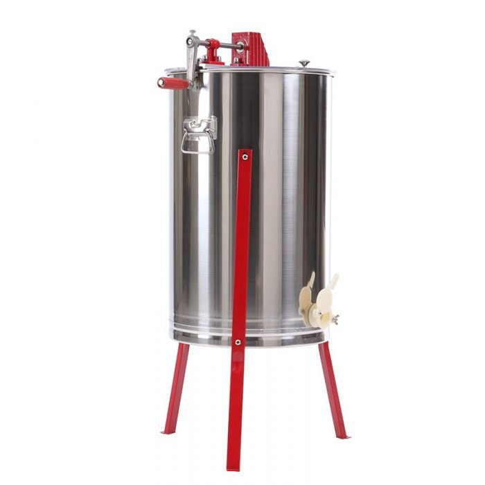 HE 3M 3 Frame Stainless Manual Honey Extractor 3