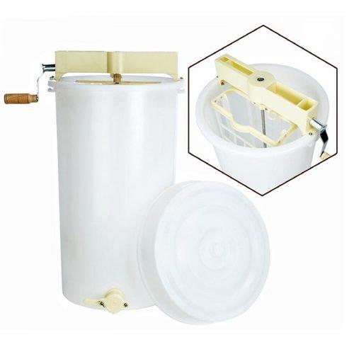 HE P1 Plastic 2 frame honey extractor 5