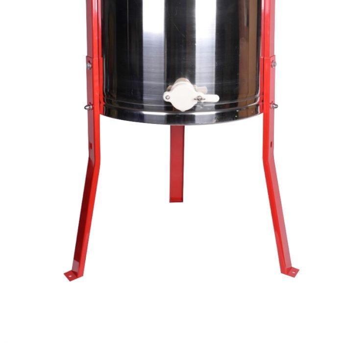 2-Frame-Stainless-Steel-Manual-Honey-Extractor-2