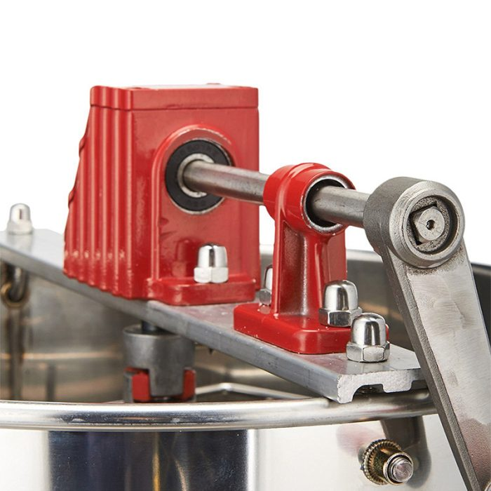 2-Frame-Stainless-Steel-Manual-Honey-Extractor-6