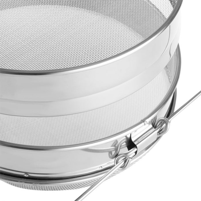 Double layer Stainless Steel Honey Strainer 3