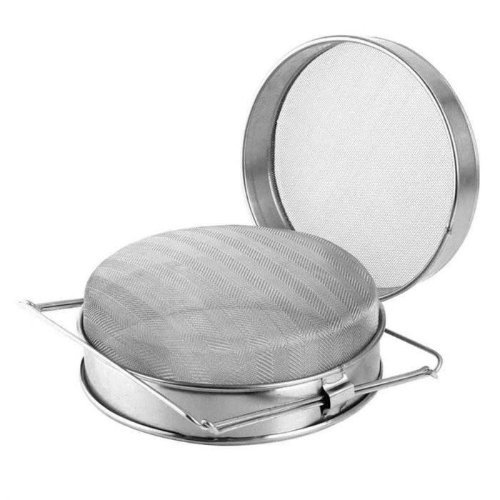 Double layer Stainless Steel Honey Strainer 6