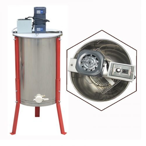 Electric-2-Frame-Stainless-Steel-Honey-Extractor-1