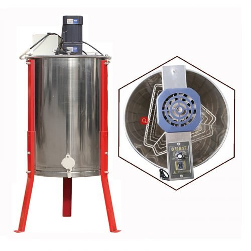 Electric-3-Frame-Stainless-Steel-Honey-Extractor-1