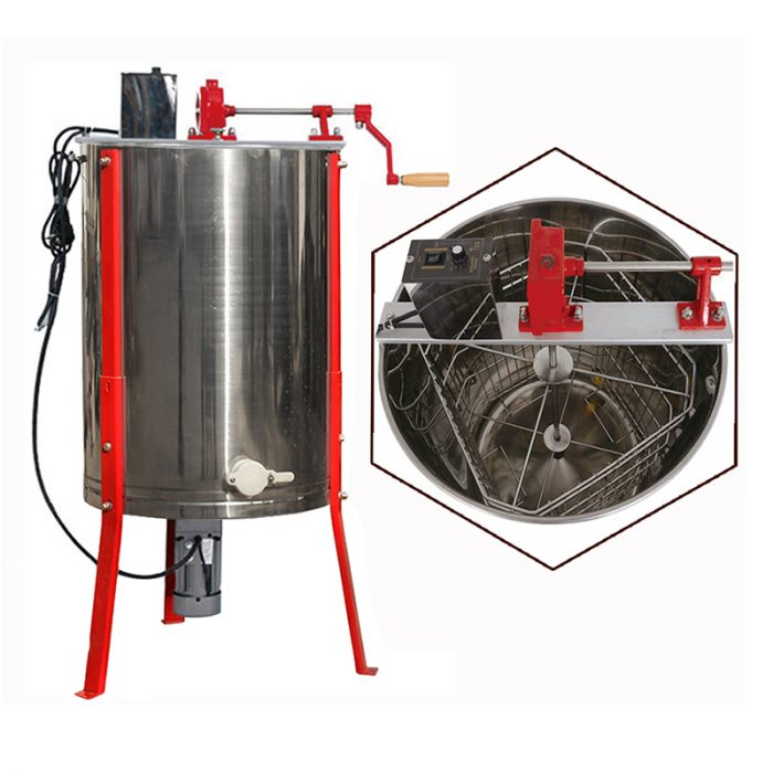 Electric-4-Frame-Multifunction-Honey-Extractor-1