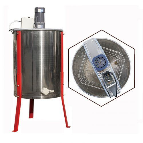 Electric-4-Frame-Stainless-Steel-Honey-Extractor-1