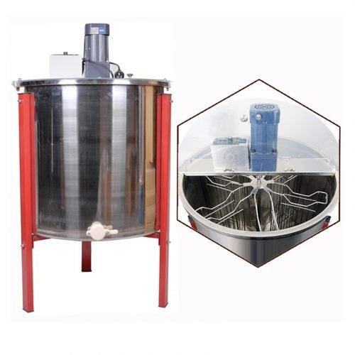 Electric-6-Frame-Stainless-Steel-Honey-Extractor-1