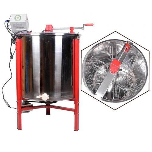 Electric-6-Frame-Three-duty-Honey-Extractor