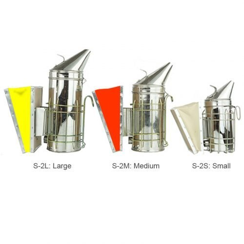 Galvanized Leatheroid Bee Smoker 1
