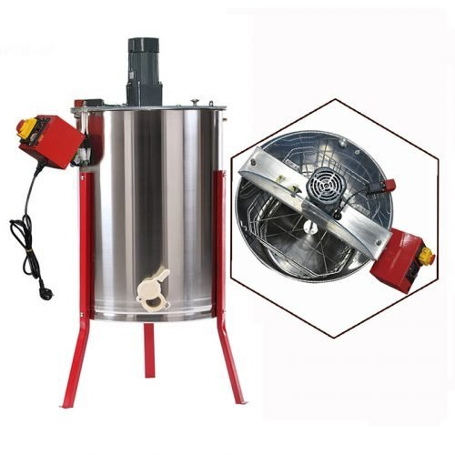 New-4-Frame-Electric-Honey-Extractor-1