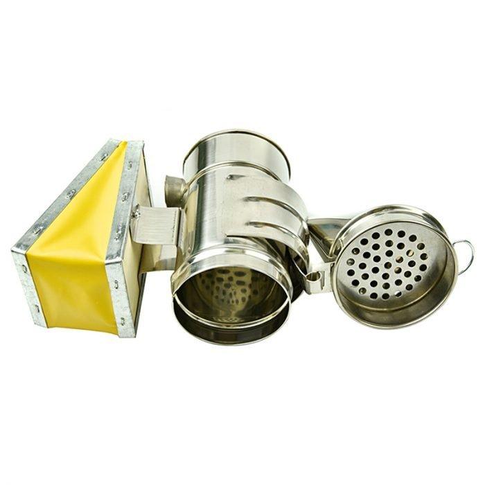 S 12 Mini Art Deco Bee Smoker 5