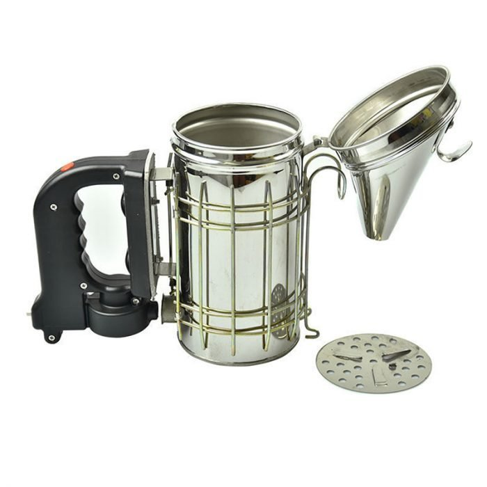 S E1 Electric stainless steel bee smoker 2