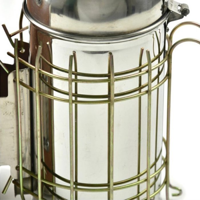 Stainless Steel Dome Bee Smoker 2