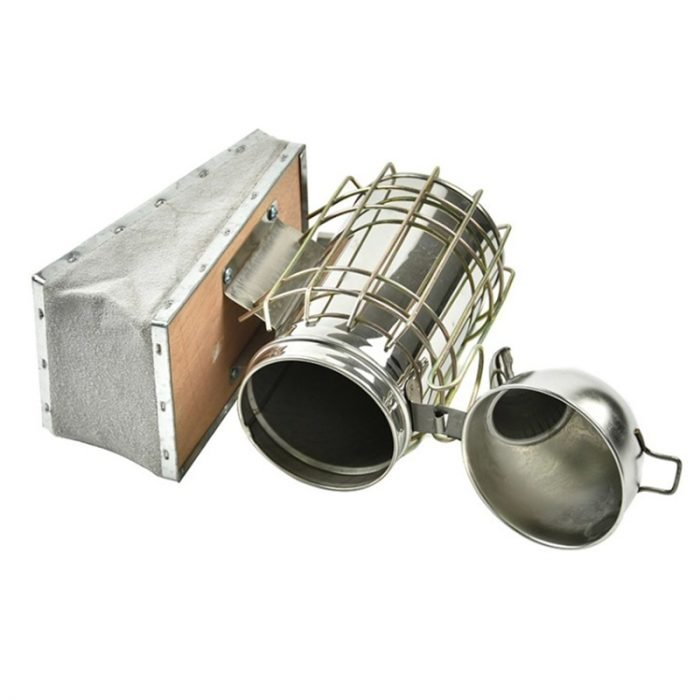 Stainless Steel Dome Bee Smoker 3