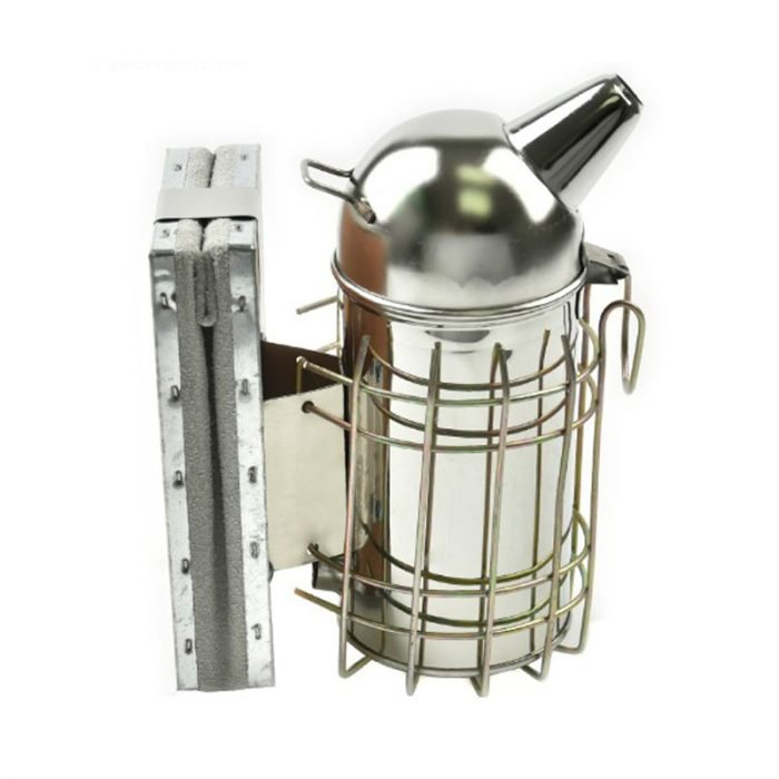 Stainless Steel Dome Bee Smoker 4