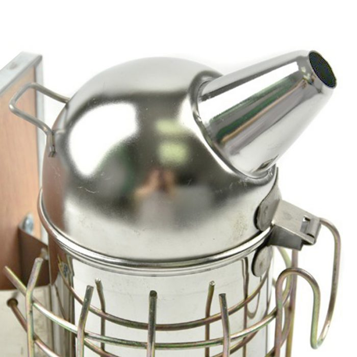 Stainless Steel Dome Leatheroid Smoker 2