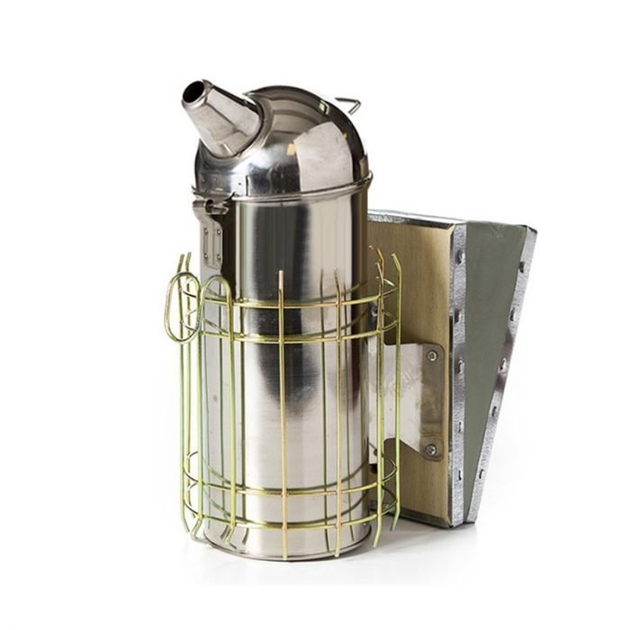 Stainless Steel Dome Leatheroid Smoker 3