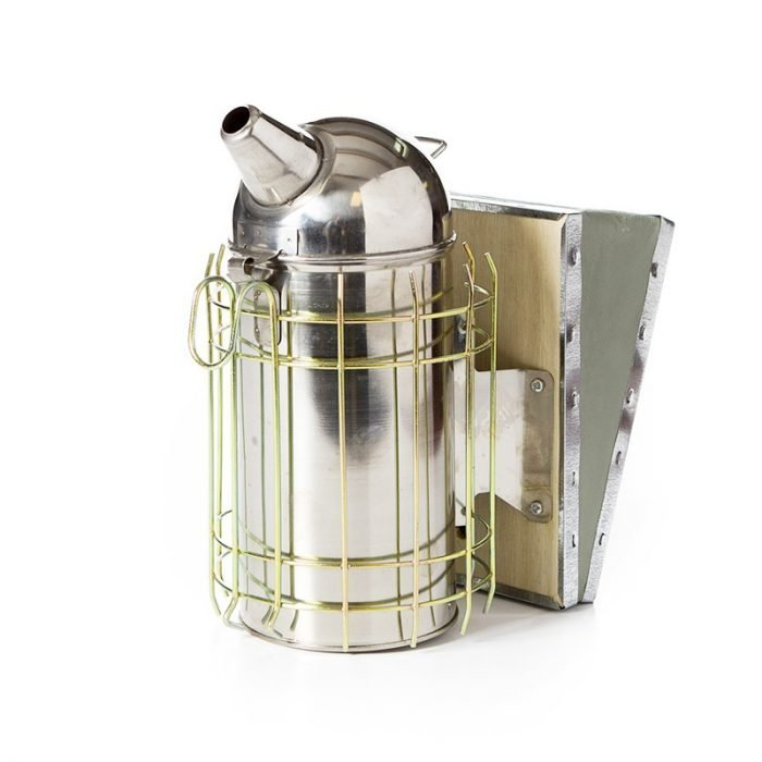 Stainless Steel Dome Leatheroid Smoker 4