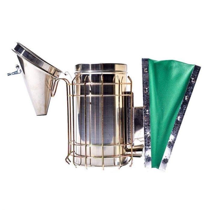Stainless Steel Leatheroid Smoker 2
