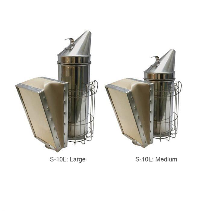 US Type Stainless Steel Bee Smoker