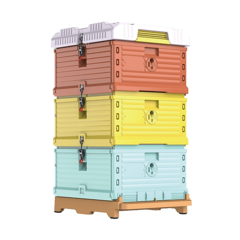 Beekeeping-Langstroth-Plastic-Thermo-Beehive-1