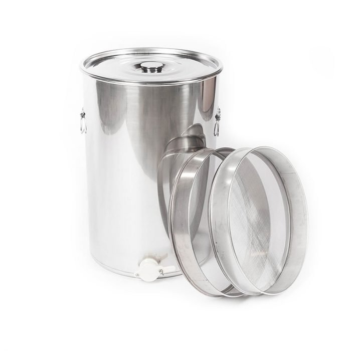 Double-Strainer-Stainless-Steel-Honey-Tank