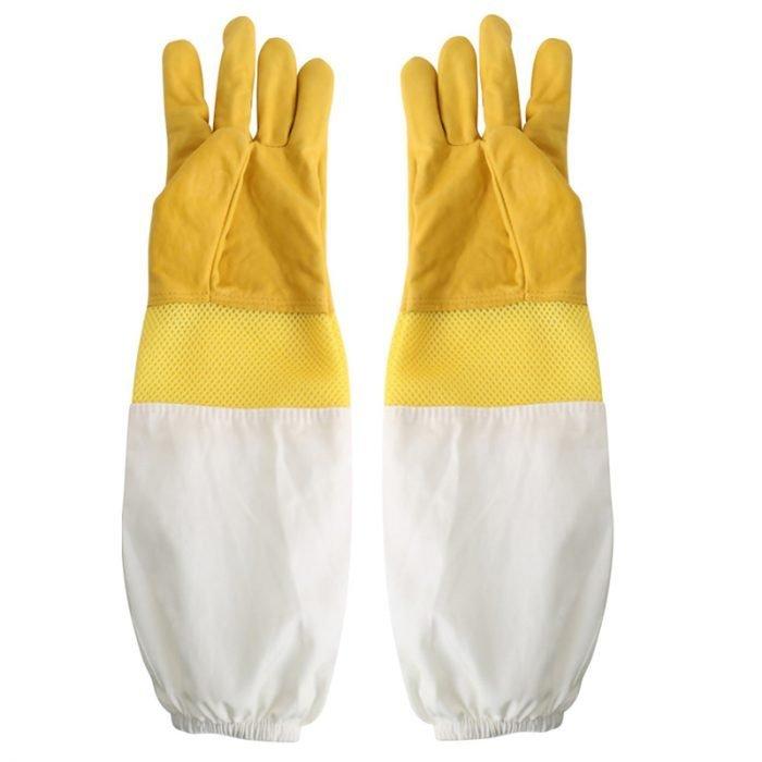 Breathable-Beekeeping-Goatskin-Gloves-1
