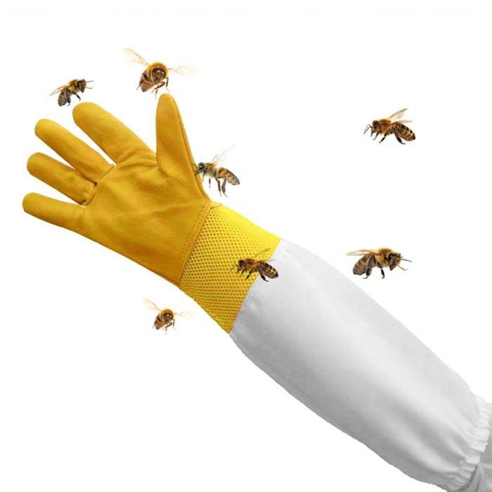 Breathable-Beekeeping-Goatskin-Gloves-4