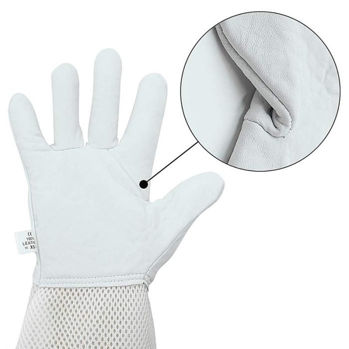 Breathable-Beekeeping-Goatskin-Gloves-7