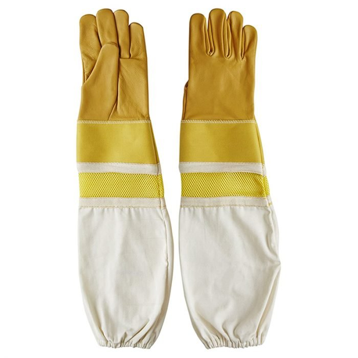 Reinforced-Cuffs-Breathable-Bee-Gloves-1