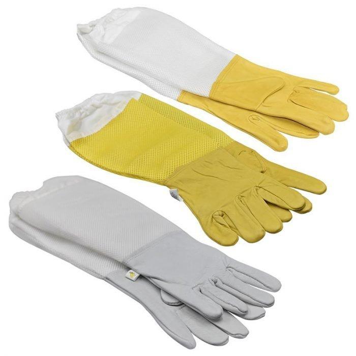 Ventilated-Mesh-Sleeves-Beekeeper-Gloves-7