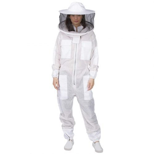 Breathable-Round-Veil-Beekeeping-Suit-1