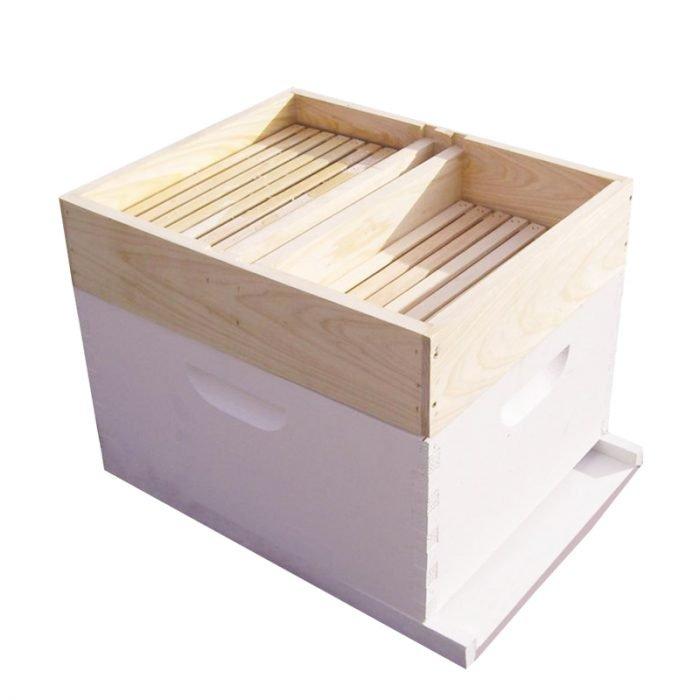 Beekeeping-Wooden-Top-Feeder-6